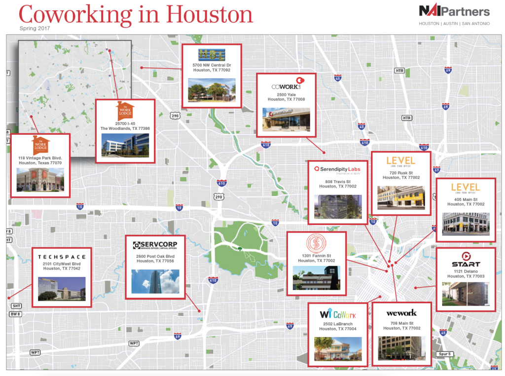 Map 77002.Coworking On The Map In Houston Nai Partners