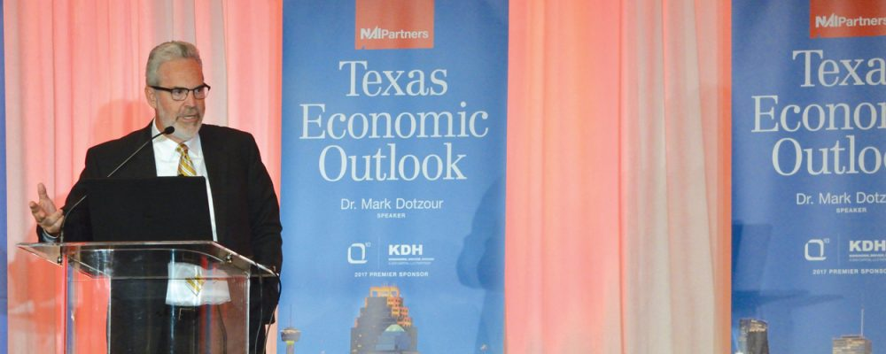 NAI Partners 2017 Economic Outlook With Dr. Mark Dotzour Commercial Real Estate