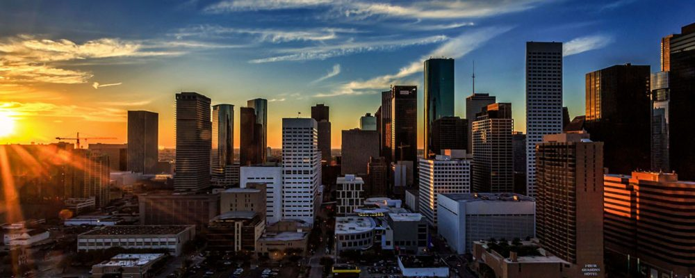 NAI Partners Commercial Real Estate Houston Skyline