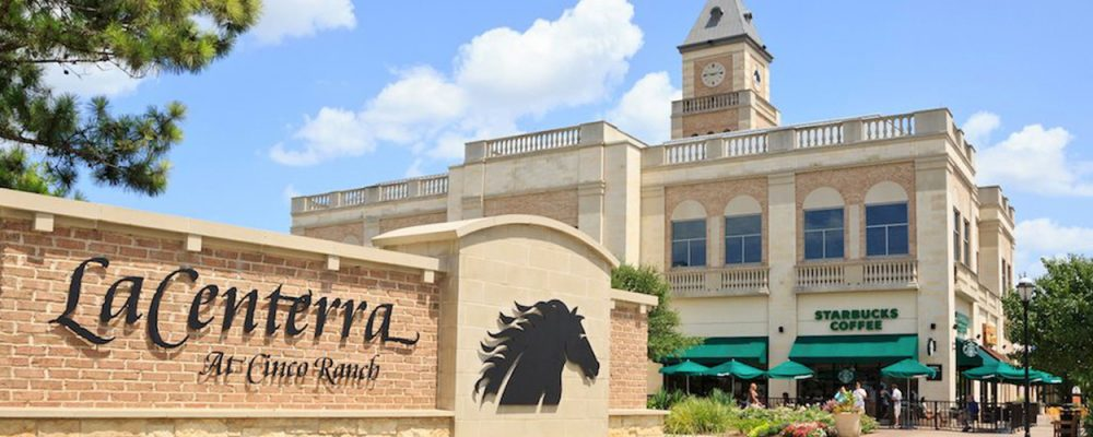 Houston Retail Commercial Real Estate LaCenterra at Cinco Ranch