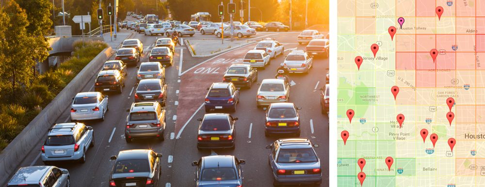 Commute Time Analysis: Tracking Houston Commute Traffic and Commercial Real Estate
