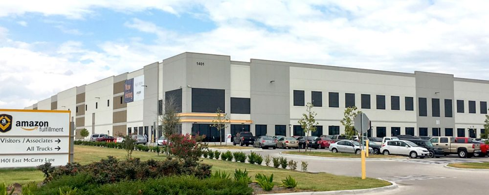 Austin Industrial Commercial Real Estate Market Quarterly Report with Economic Data and Information - Amazon Fulfillment center in San Marcos