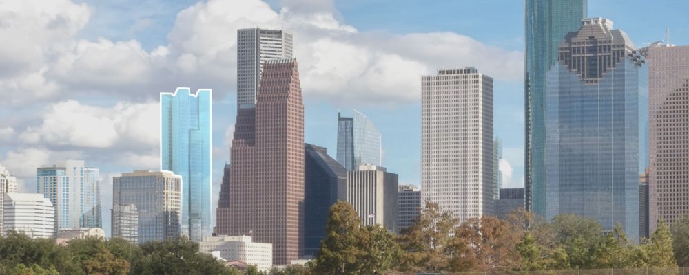Houston Office Market Commercial Real Estate Economic Data and Information - 801 Texas Avenue Tower by Hines