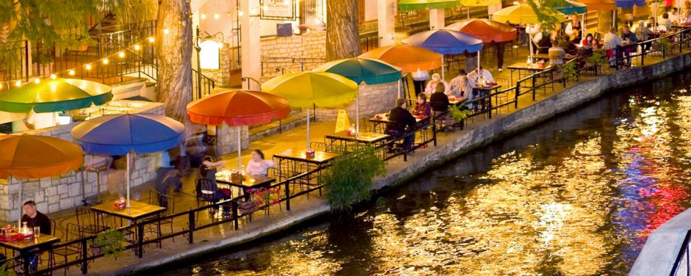 San Antonio Retail Market Commercial Real Estate Economic Data and Information - Riverwalk shops and restaurants