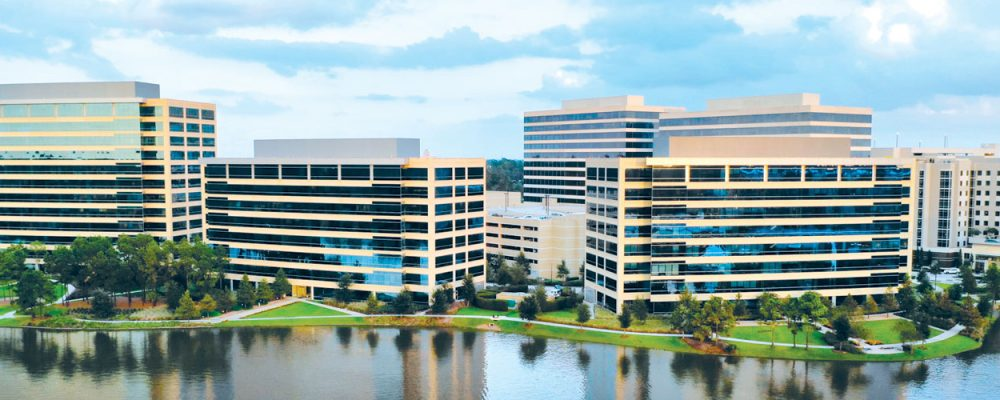 Houston Office The Woodlands Submarket Spotlight Market Data and Economic Data - Lakefront North Hughes Landing