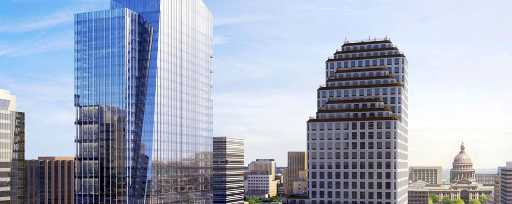 Austin Office Commercial Real Estate Market Data and Economic Information - Block 71 office tower downtown CBD