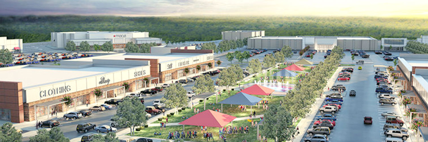 Houston Retail Commercial Real Estate Market Data and Economic Information - San Jacinto Mall in Baytown Redevelopment by Fidelis