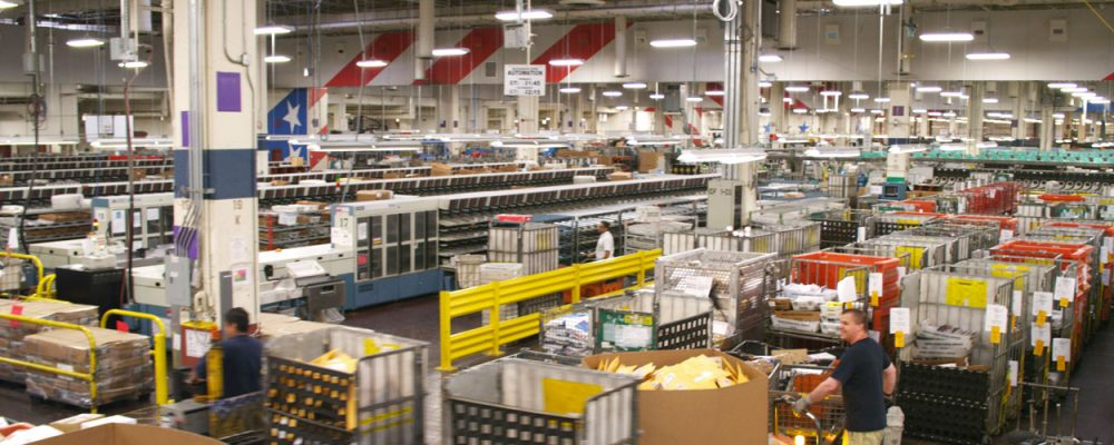 Houston Industrial Commercial Real Estate Market Data and Economic Information - USPS distribution center North Houston