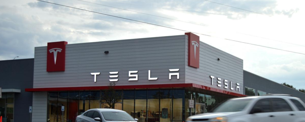 Tesla Austin Showroom